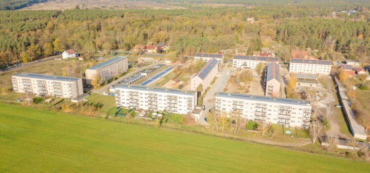 Plattenbausiedlung wird zum ökologischen Vorzeigequartier